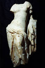 Statue of Venus, marble, Beirut, Hellenistic Period