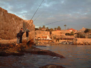 Ancient port of Byblos, Jbeil