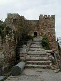 Byblos, Castle bridge passage