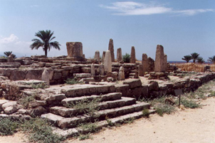 Byblos, The Temple of Obelisks