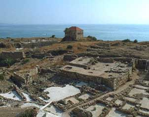 Byblos, Temple of Baalat Gebal:Lady of Byblos 2700 BC