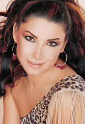 Aline Khalaf, Lebanese pop star