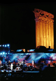 Sting, Baalbek International Festivals